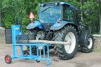 Vedmaskin för traktordrift